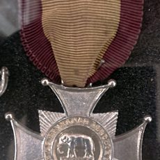 A579 3 Army Temperance Society India Silver Medal