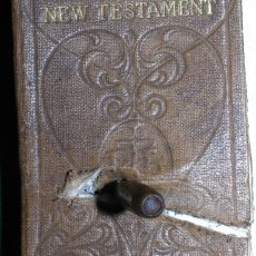 Bullet In Bible Fred Peil Ireby WW1 Edited 2