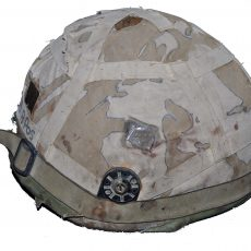 Cpl Ashley Irving Helmet