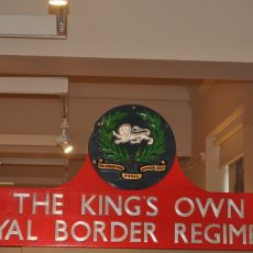 Kings Own Royal Border Regiment Nameplate Of 45043 (1)