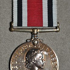 Special Constabulary Long Service Medal Elizabeth II Head Obverse