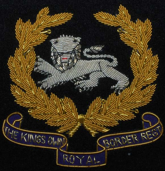 King's Own Royal Border Regiment Blazer Badge