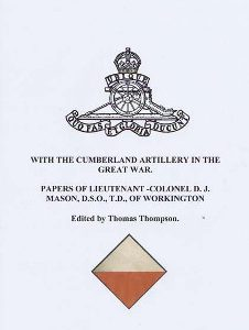 With The Cumberland Aritillery In The Great War 12 50 Small