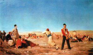 CALBR3020 The Crimean Bowls Scene 1855