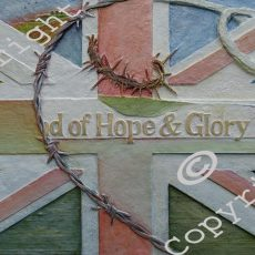 027a Hope & Glory Carved Relief by Phil Dutton