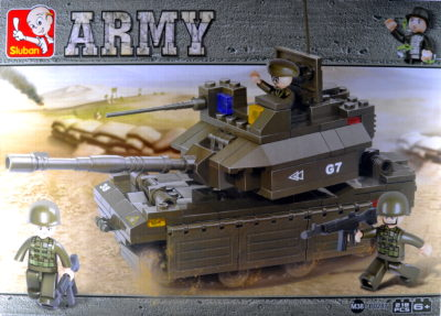 Sluban Army Tank 219
