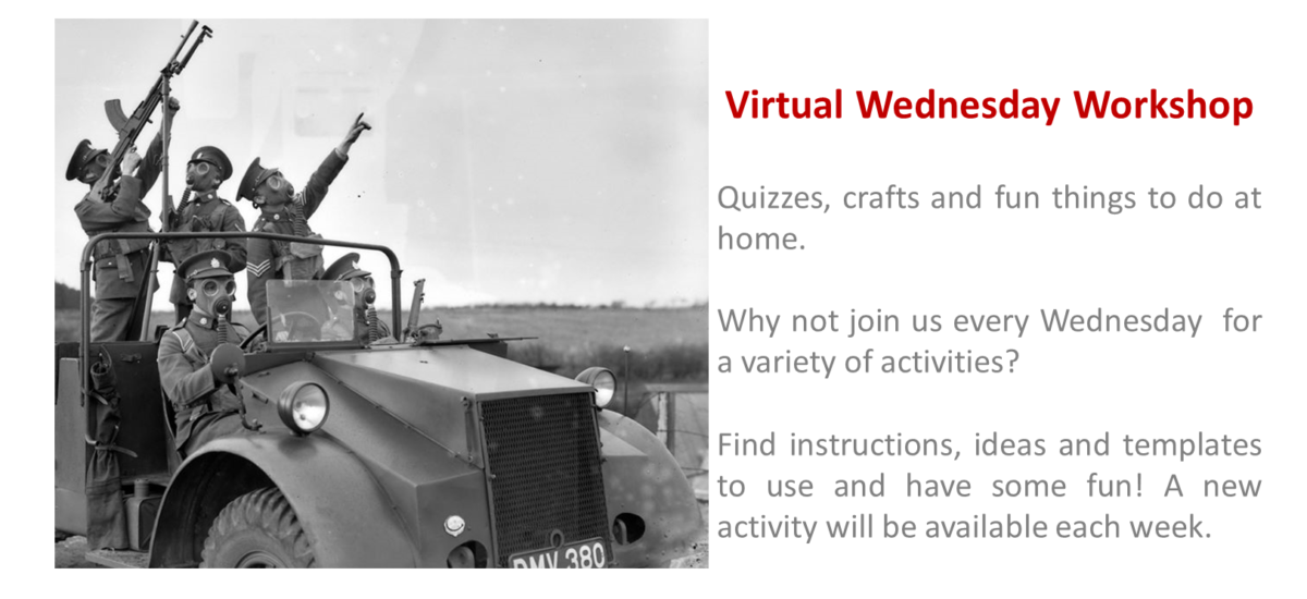 Virtual Wednesday Workshop