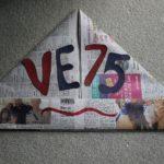 VE DAY 75 Newspaper Hat